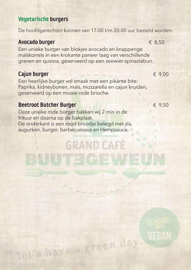 Blad Vega burgers