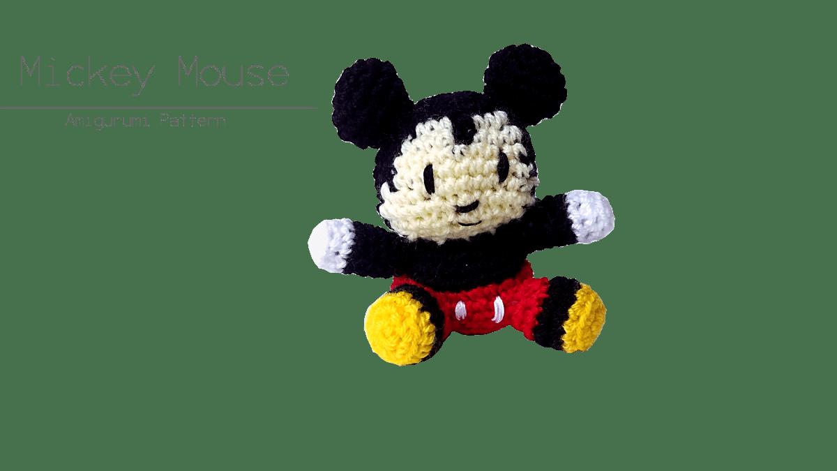 Mickey Mouse - Amigurumi Pattern | Cafè del Craft
