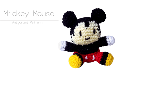Mickey Mouse Amigurumi Pattern Caf Del Craft