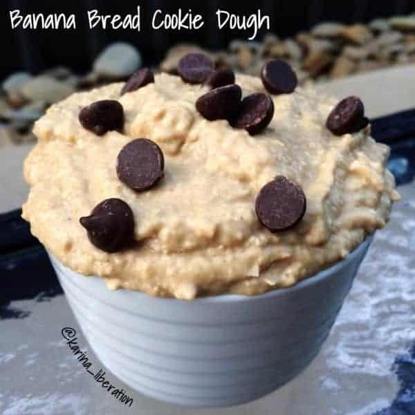 Banana Bread Cookie Dough