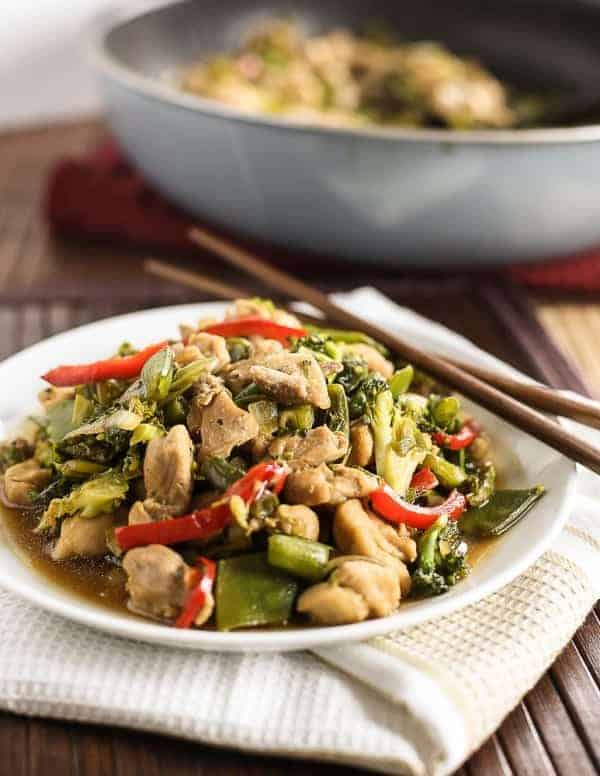 Chicken Sweet Soy Stir Fry