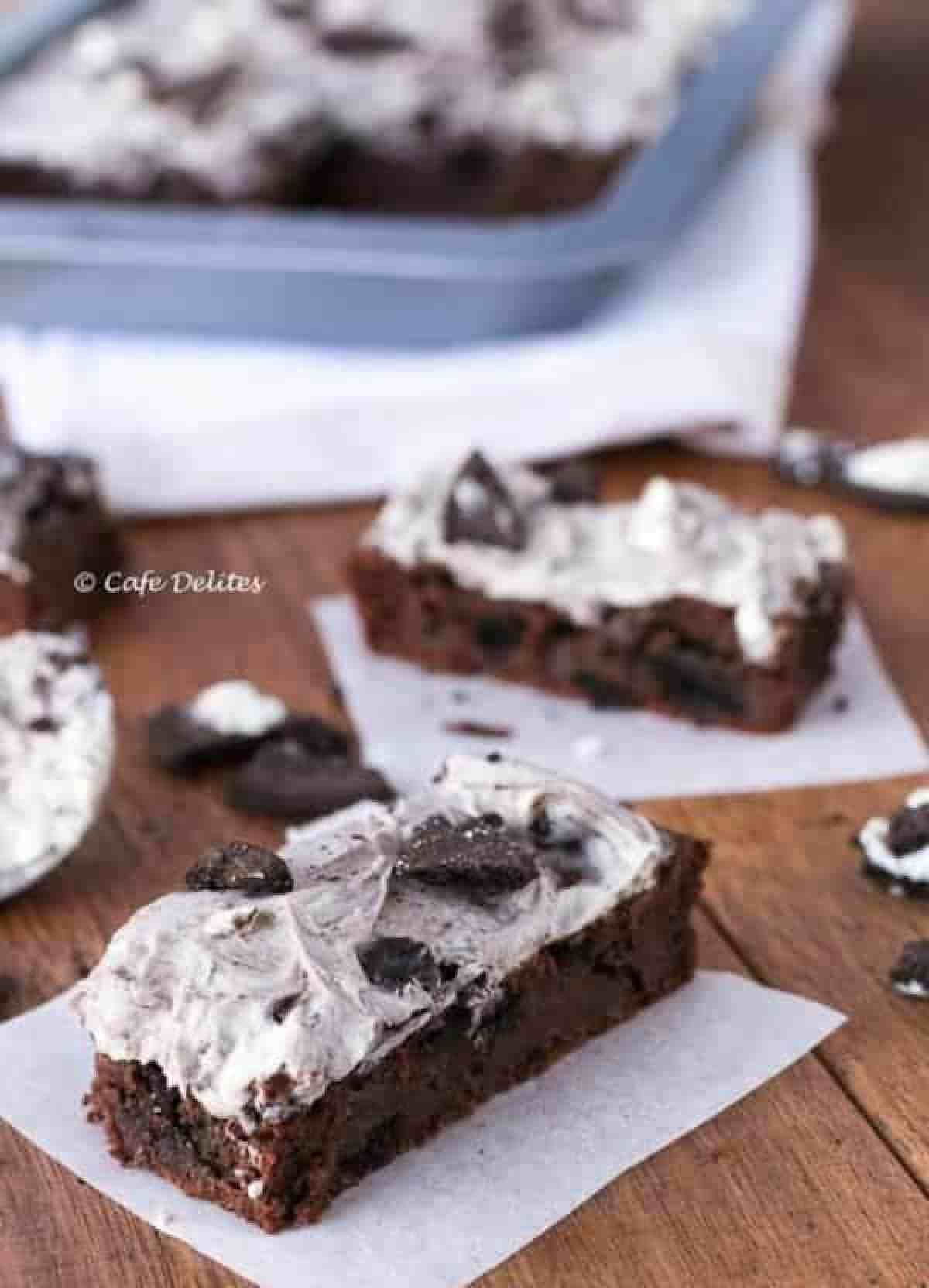 Cookies and Cream Brownies - Cafe Delites - Cafe Delites-16