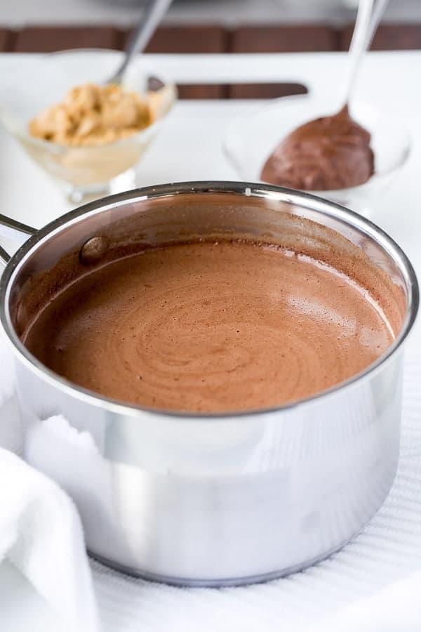 Peanut Butter Nutella Hot Chocolate - Cafe Delites http---cafedelites