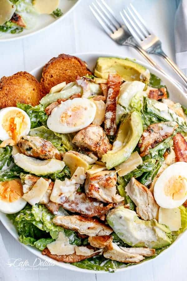 print skinny chicken and avocado caesar salad a beautiful caesar
