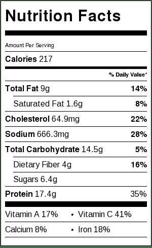 chicken-cacciatore-nutrition-label