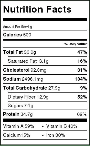 grilled-cajun-chicken-salad-creamy-cajun-dressing-nutrition-label