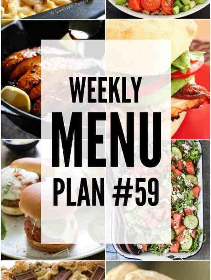 Weekly Menu Plan 59