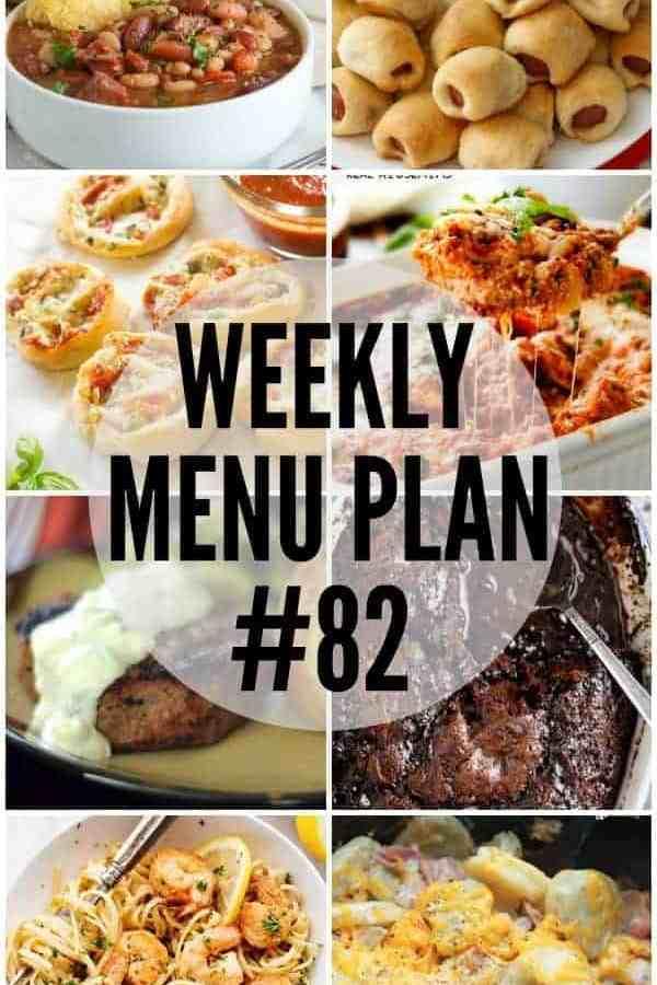Weekly Menu Plan #82