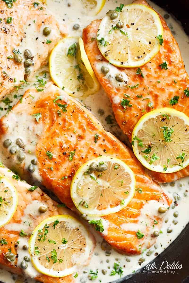 Easy garlic salmon recipes