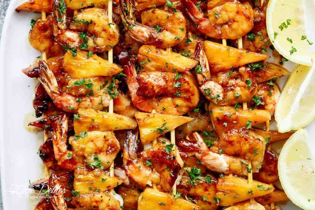 fabulous fourth of july shrimp skewers