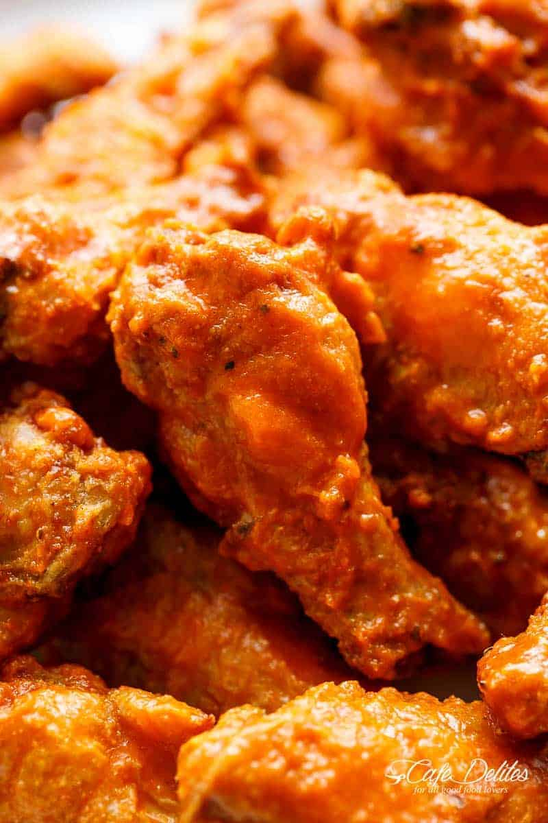Wings Buffalo Blue Cheese Dipping Sauce