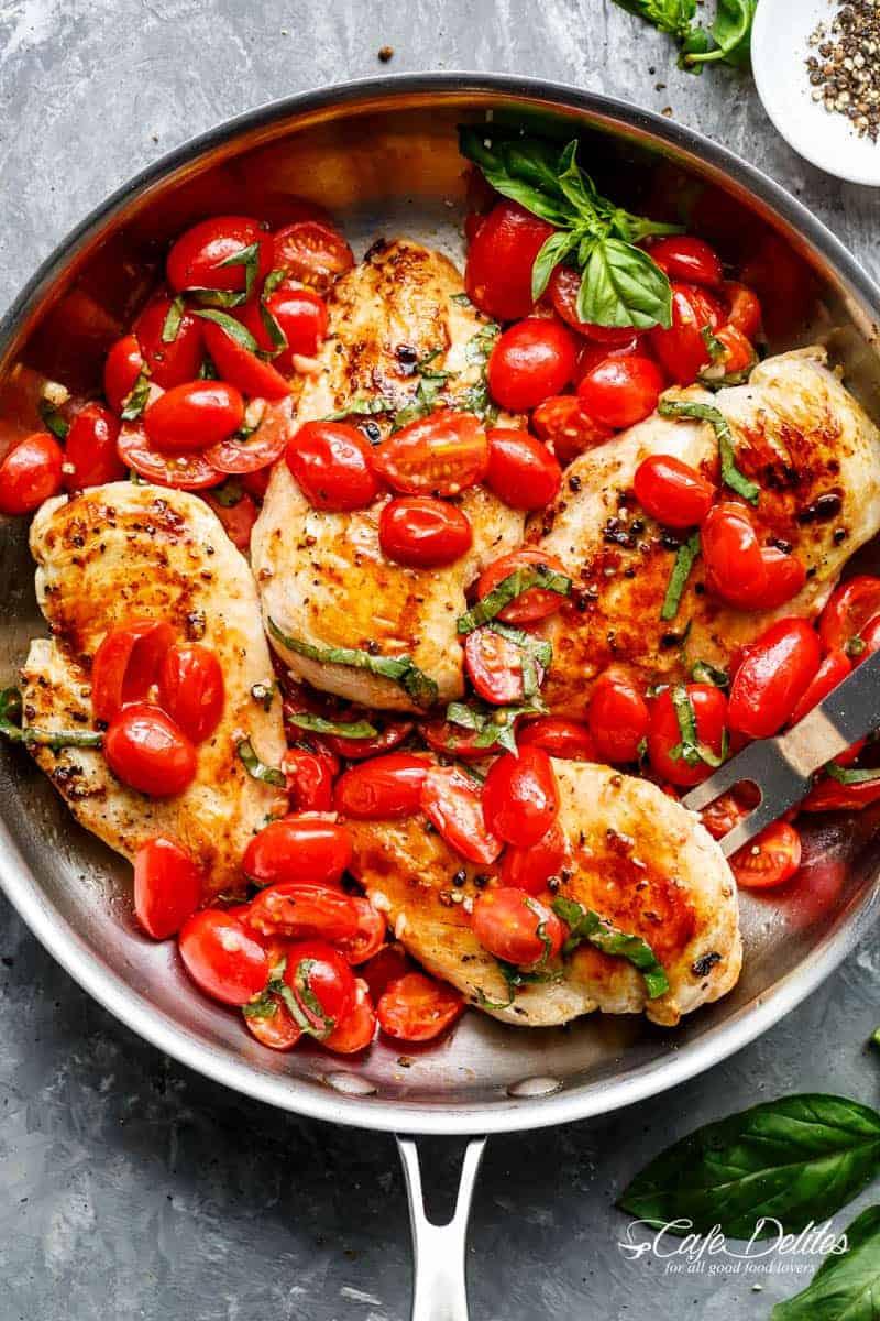 Chicken and Tomato Sauté