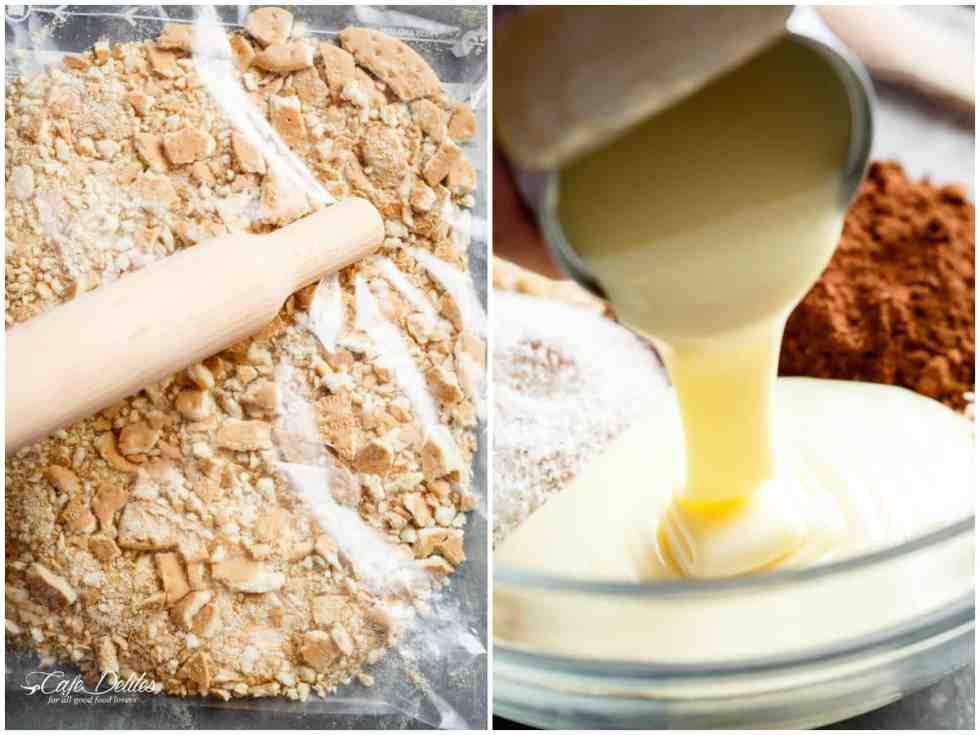 Easy Chocolate Coconut Balls (Truffles) HOW TO STEPS! | cafedelites.com