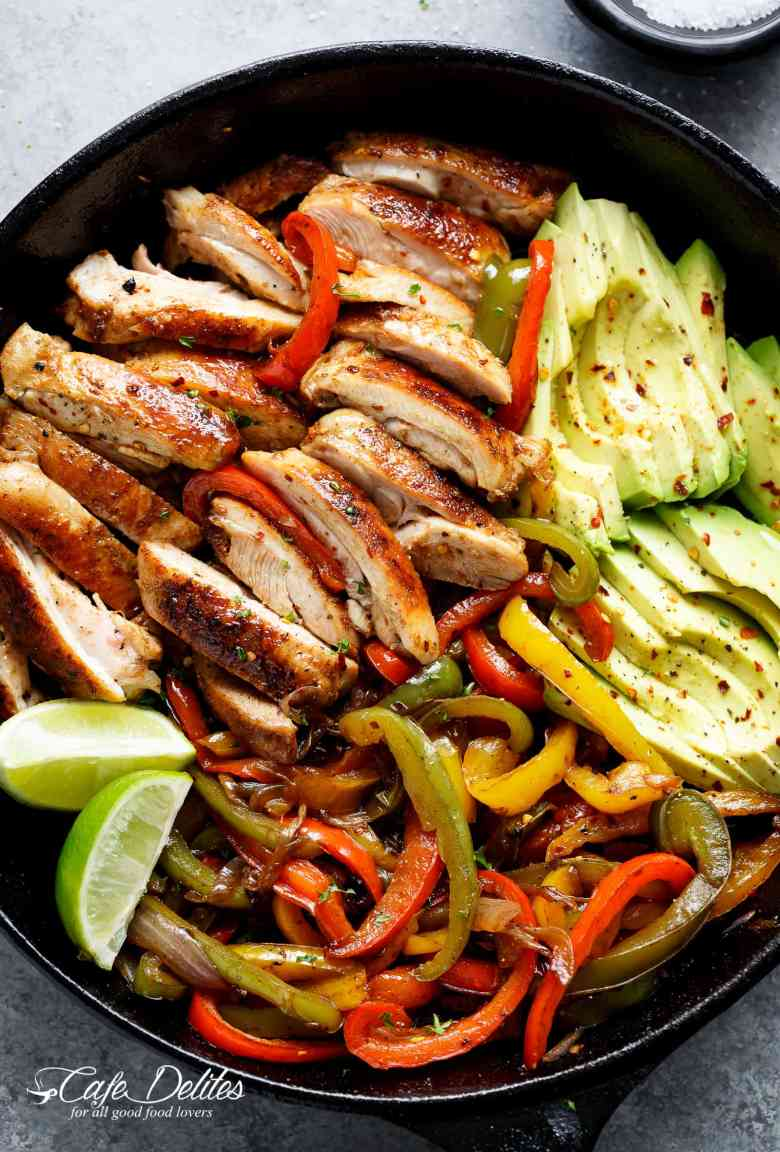 Best Chicken Fajitas