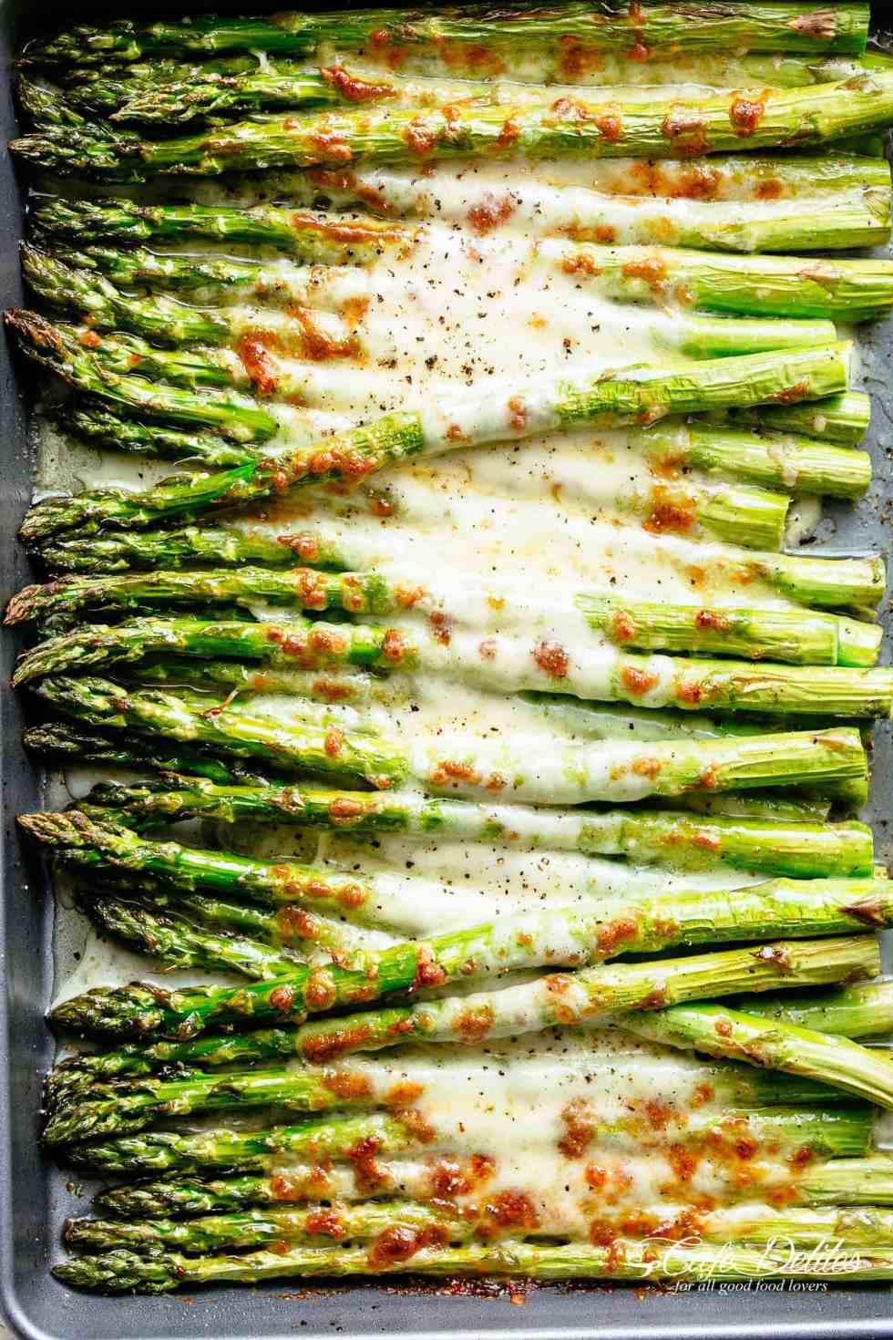 Garlic Asparagus Recipes Balsamic Vinegar