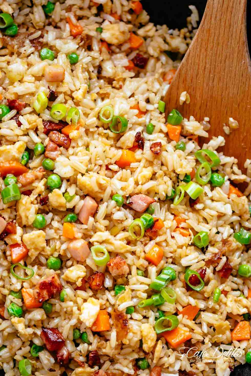 Easy fried rice cafe delites fried rice just like chinese fried rice cafedelites ccuart Gallery