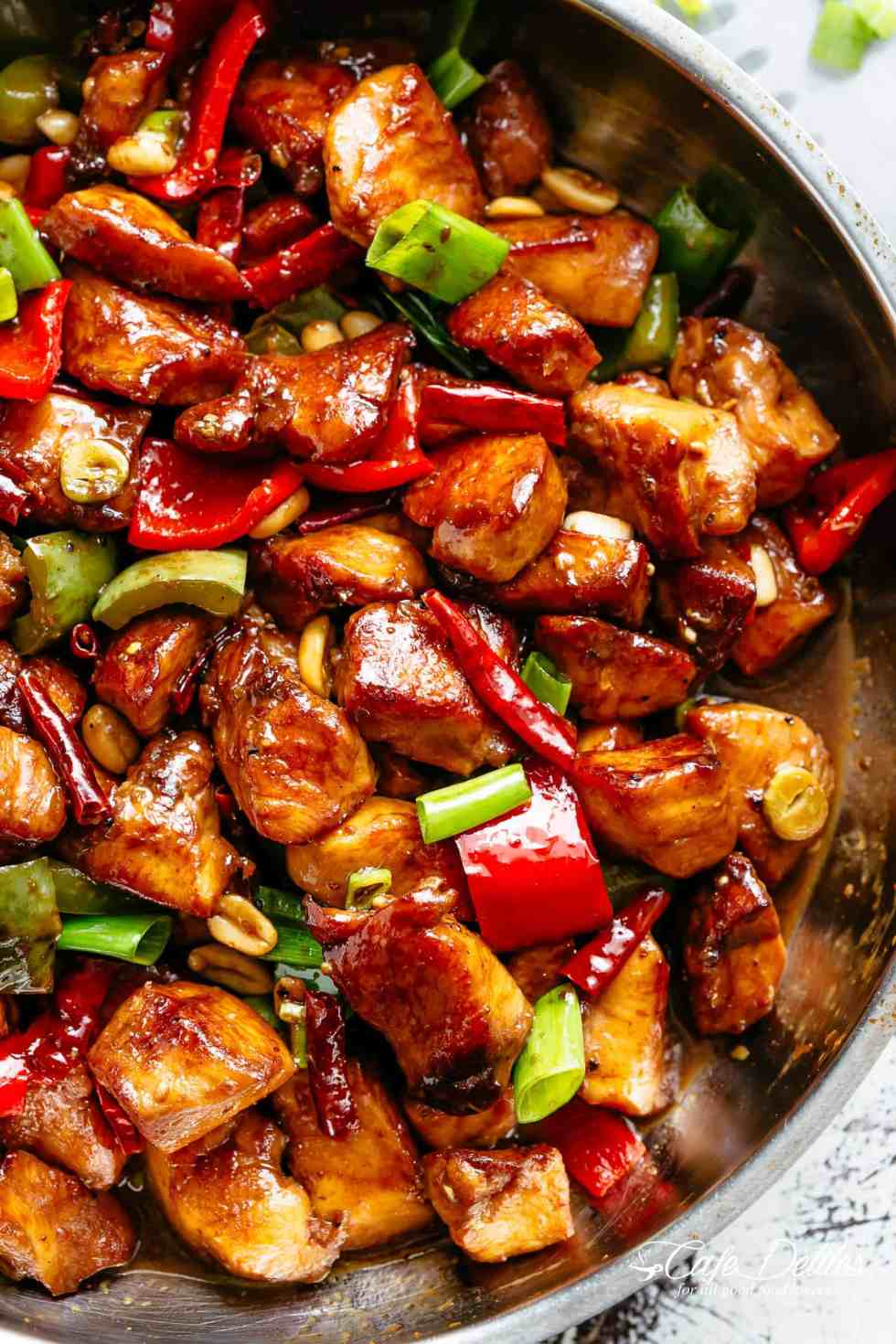 Kung Pao Chicken | cafedelites.com