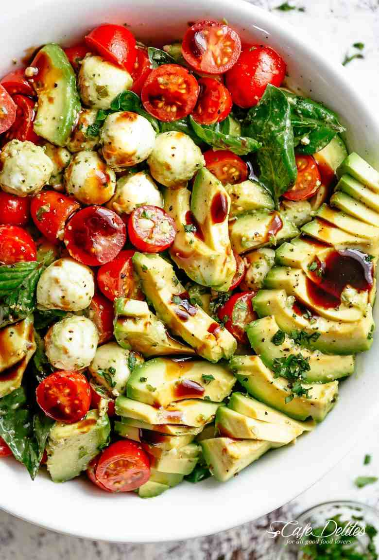 Caprese Salad with Avocado