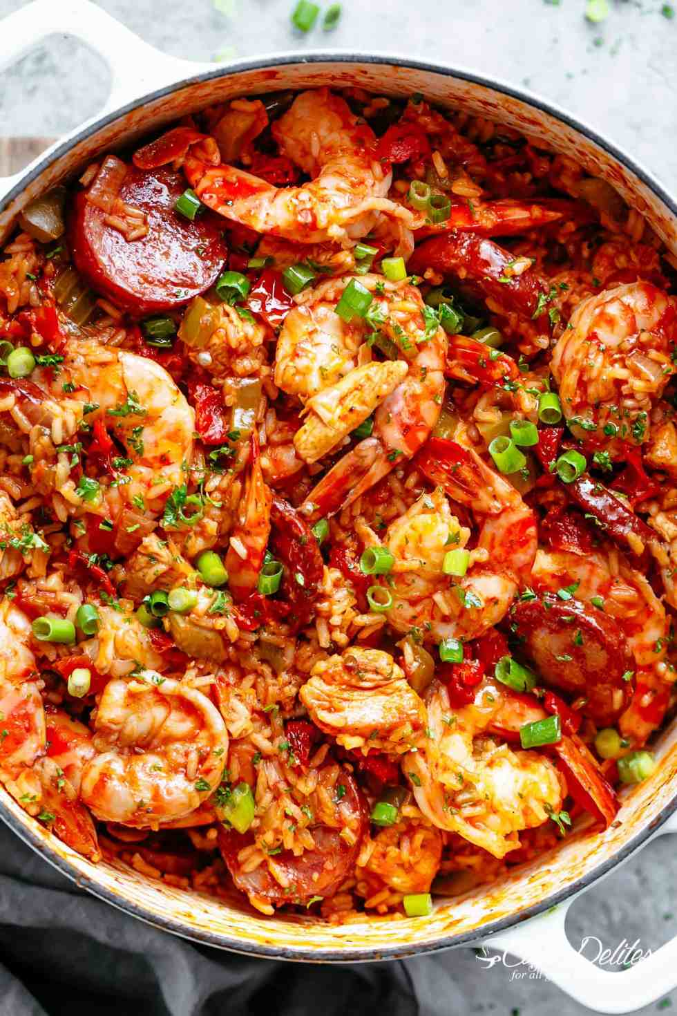 Jambalaya cafe delites an authentic creole jambalaya recipe a delicious one pot meal coming to you from forumfinder Choice Image