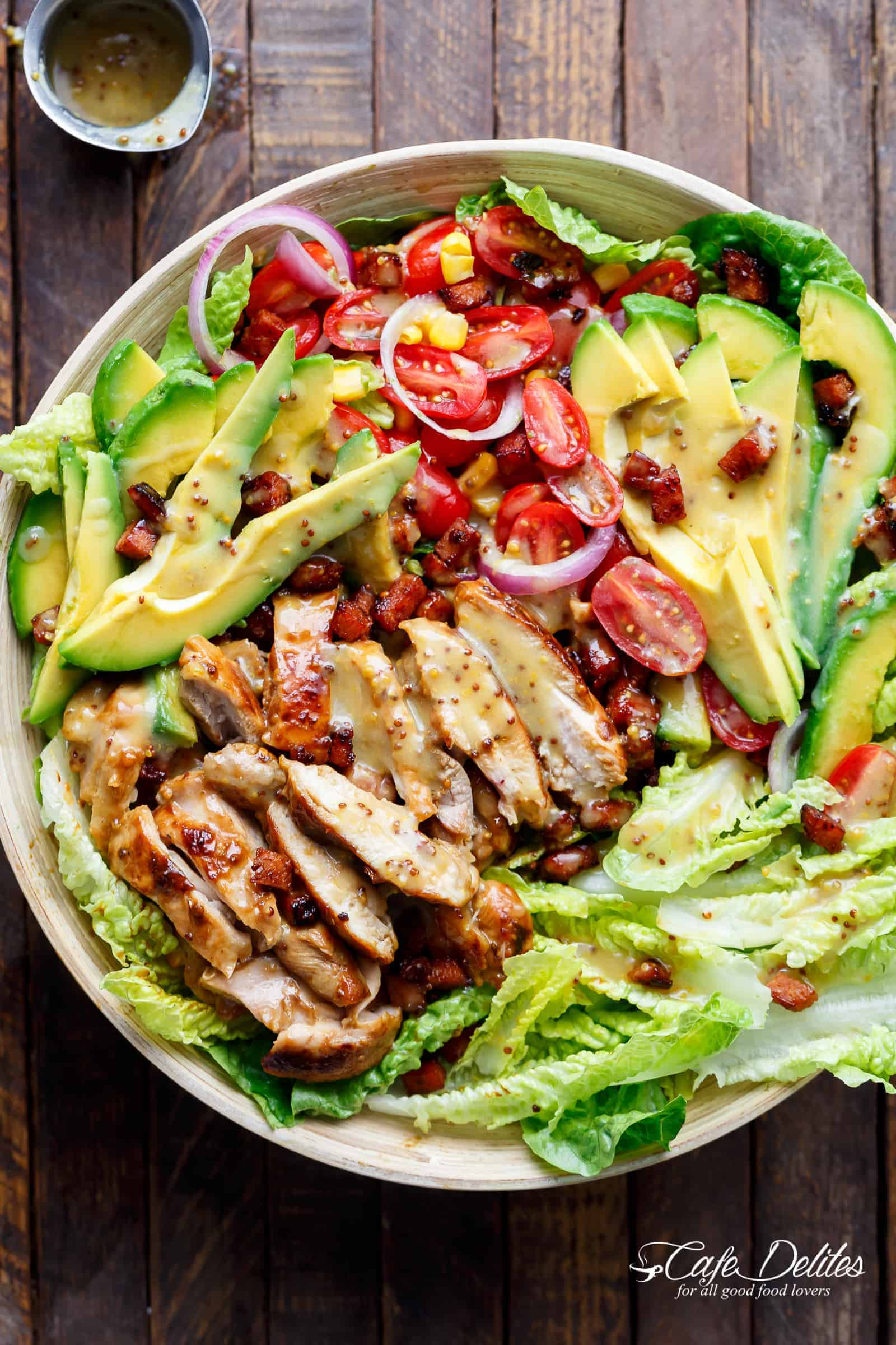The most delicious birthday salads - 7 step by step recipes 95