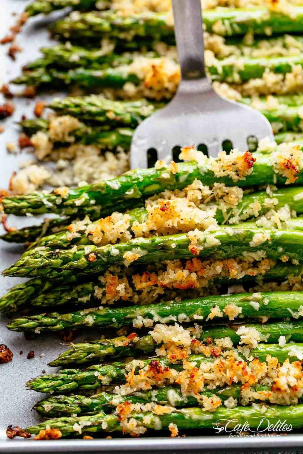 Garlic Asparagus recipe! | cafedelites.com