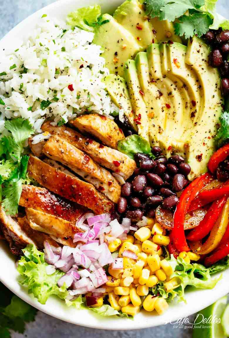 Fajita Chicken Burrito Bowl