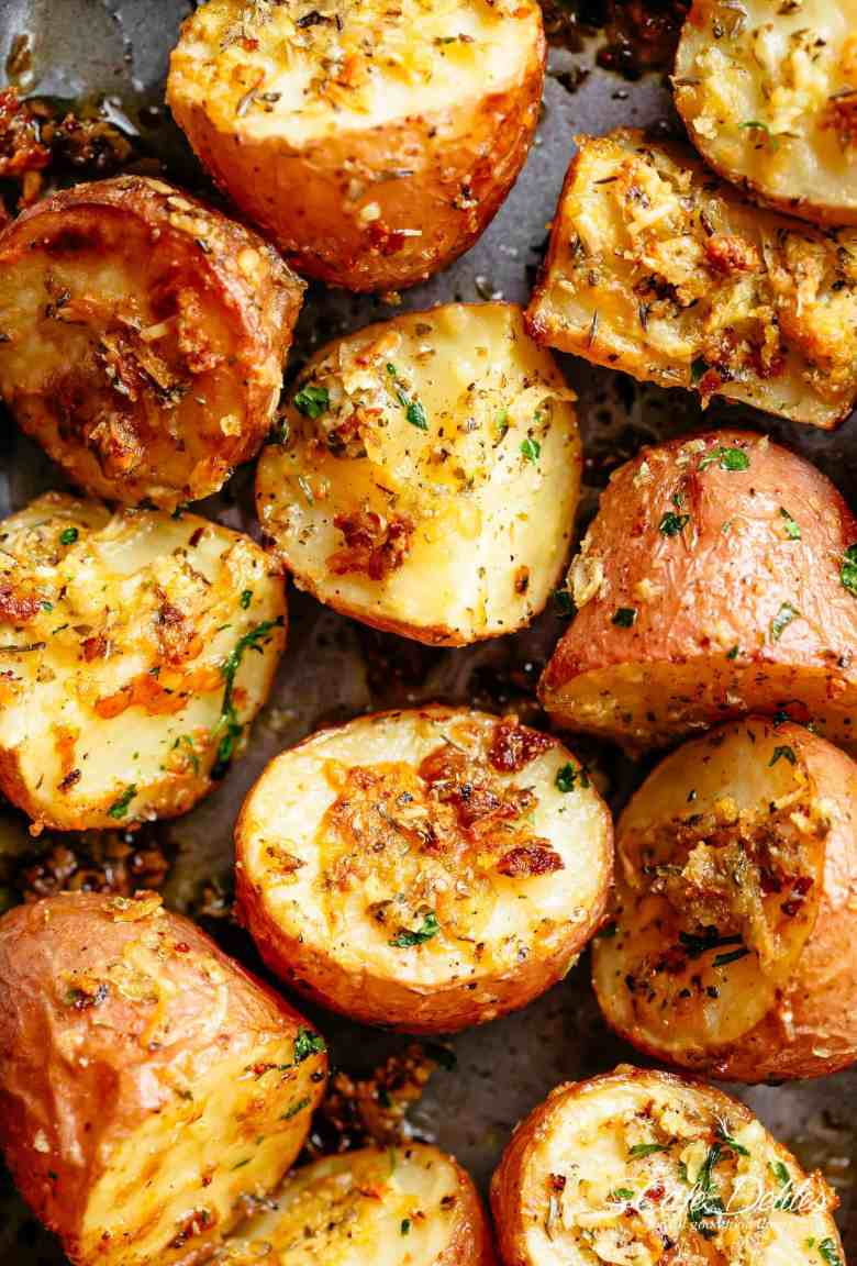 Browned Butter Parmesan Roasted Potatoes