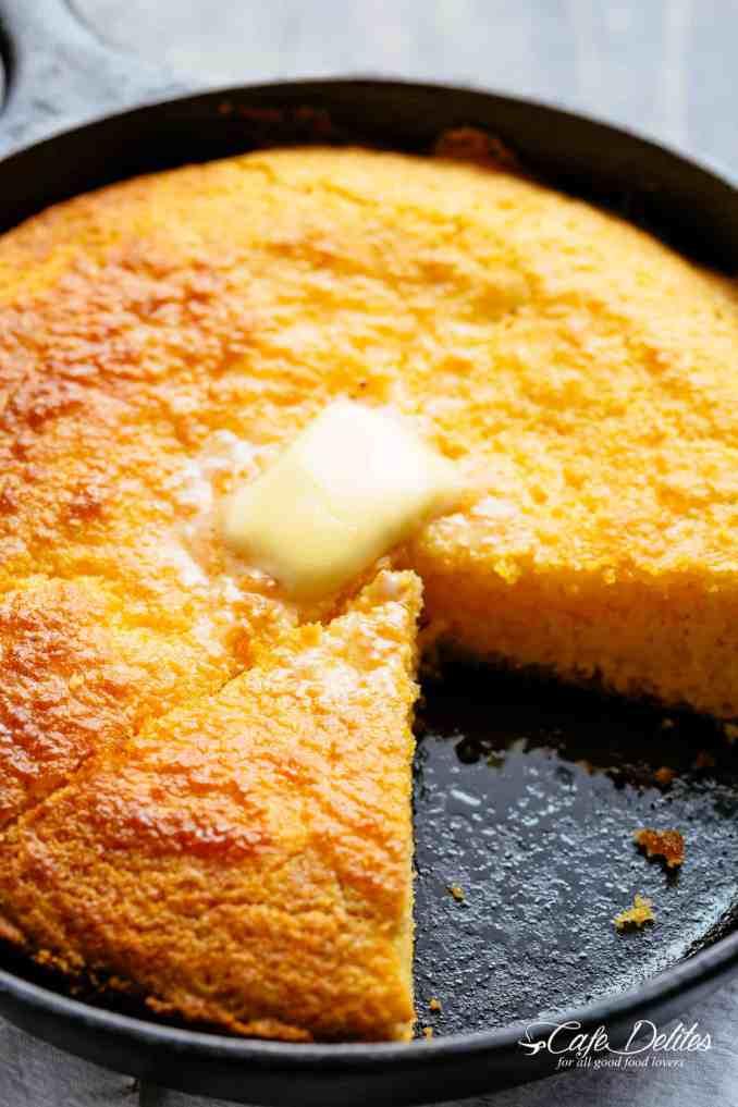 Cornbread Recipe - Cafe Delites