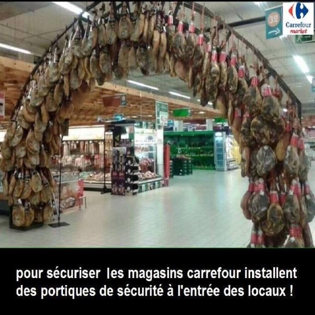 sécurité portique attentat