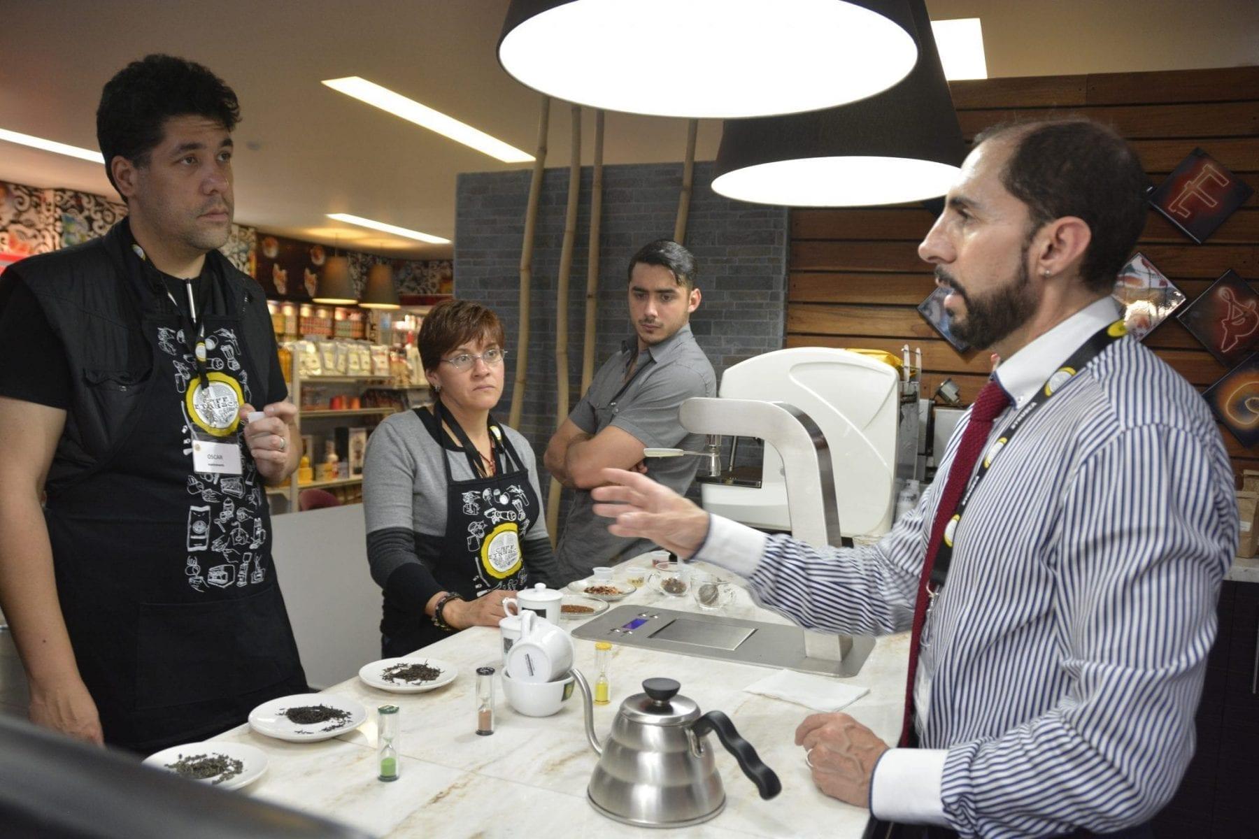 Cursos para baristas y talleres para cafeterías