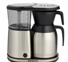 Coffee Brewer with Stainless Steel Lined Thermal Carafe