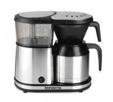 5-cup Coffee Brewer with Stainless Steel Lined Thermal Carafe