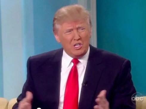 Ông Donald Trump.