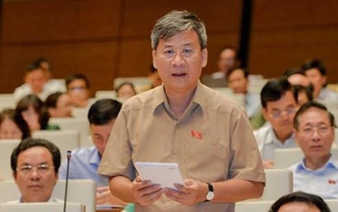 Ông Nguyễn Anh Trí - đại biểu Quốc hội đoàn TP Hà Nội