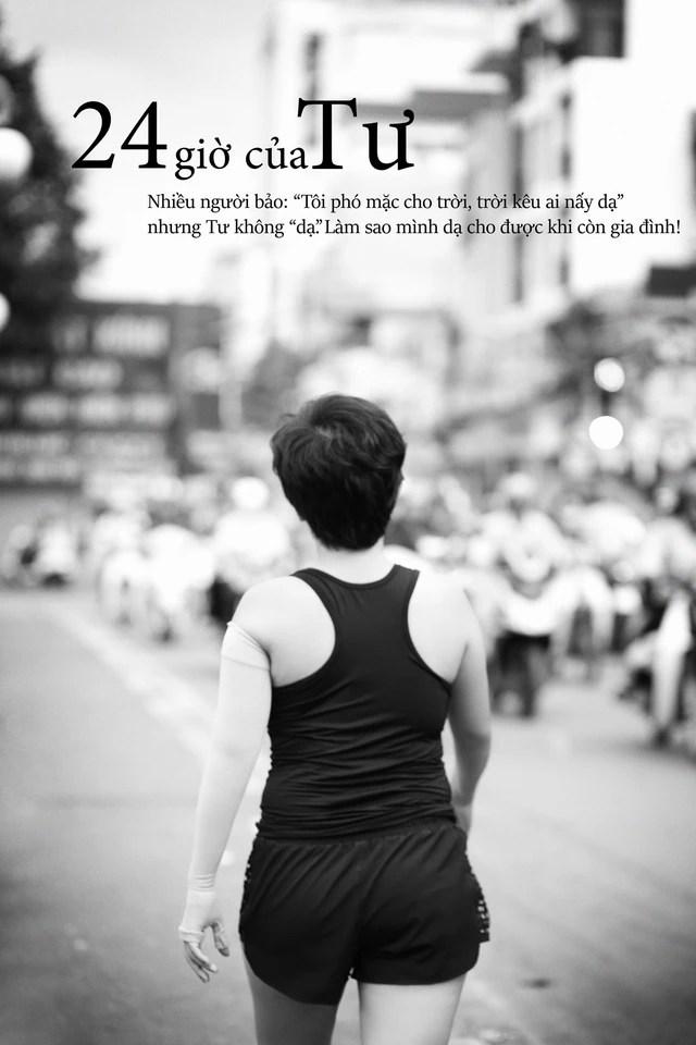 24 giờ của Tư: Bộ ảnh xúc động về người mẹ đơn thân chiến đấu với căn bệnh ung thư cùng cô con gái 12 tuổi - Ảnh 1.