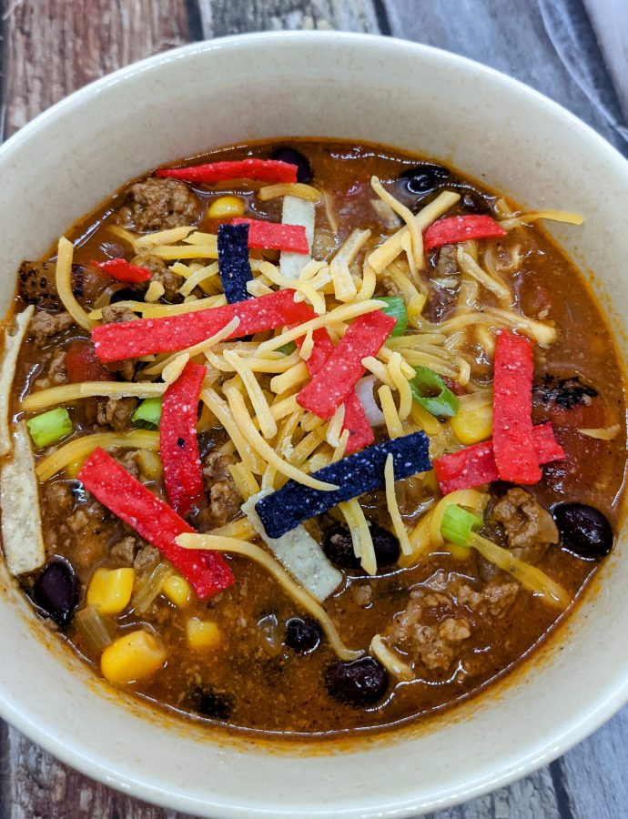 Easy Slow-Cooker Taco Soup