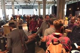 Plus de 220 amateurs de café rassemblés le 17 octobre 2016