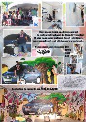 Affiche art mural Festival international de blues de Mont-Tremblant
