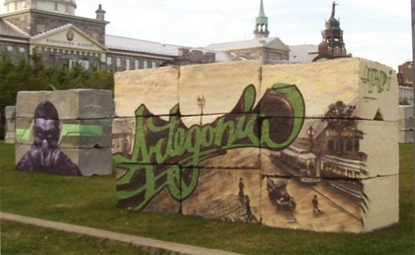 Murale festival culturel Artegonia
