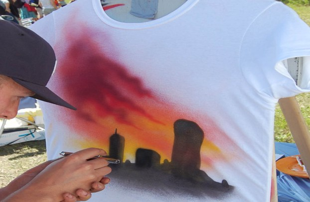 art graffiti sur T-shirts Volkswagen