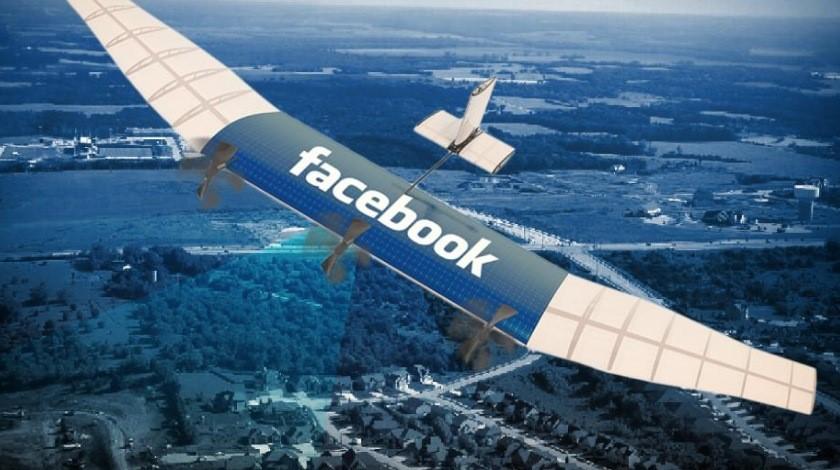Facebook prueba drones para proveer internet a todo el mundo