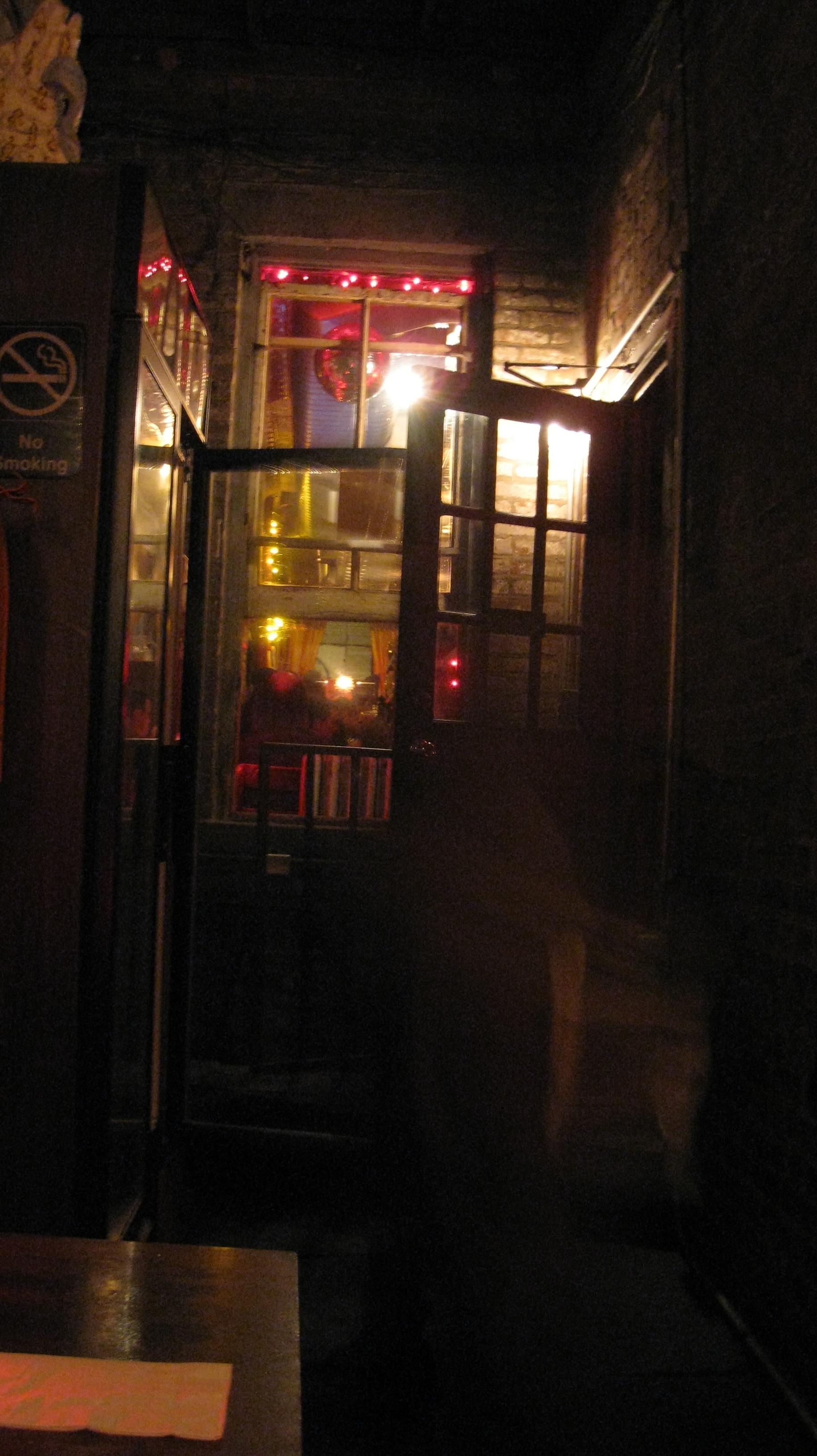 Gateway from Garden to Bar
