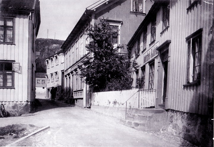 Nøgderhets kaffehus ca 1910.