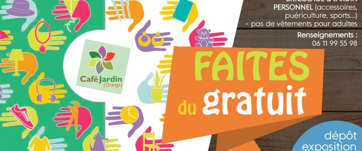 FAITES DU GRATUIT – dimanche 14 octobre