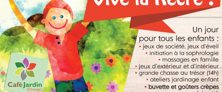 VIVE LA RECRE – Journée enfance – 12 octobre