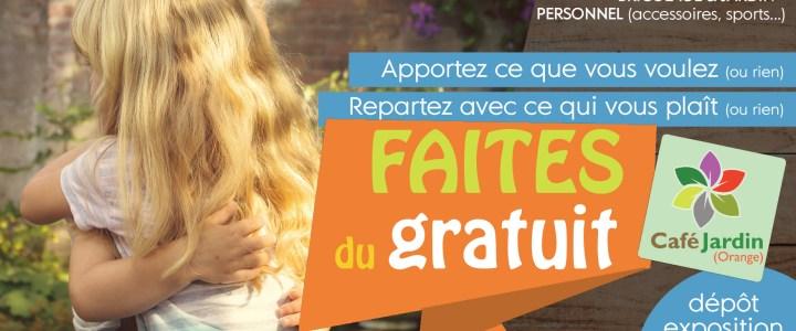FAITES DU GRATUIT – samedi 9 novembre