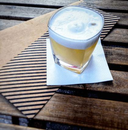 Whisky Sour mit Aqua Faba im Kune Leipzig
