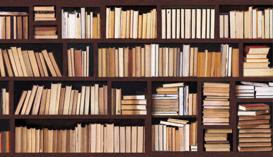 Image result for books spine in