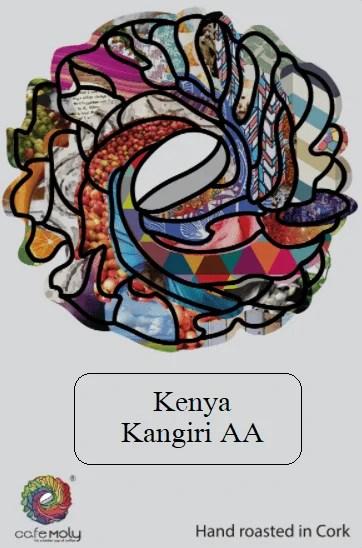 Single Silver Kenya-Cafe Moly-Label