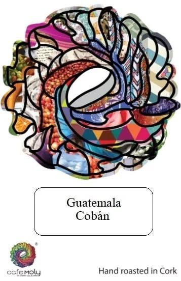 Single White Guatemala-Cafe Moly - Label
